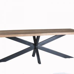 Industriële Eettafel DT - Brix Sturdy Spider 240 cm